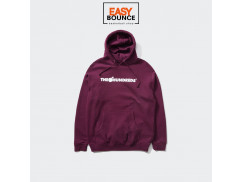 Толстовка The Hundreds Forever Bar Logo Pullover /burgundy