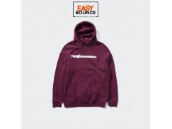 Толстовка The Hundreds Forever Bar Logo Pullover /burgundy