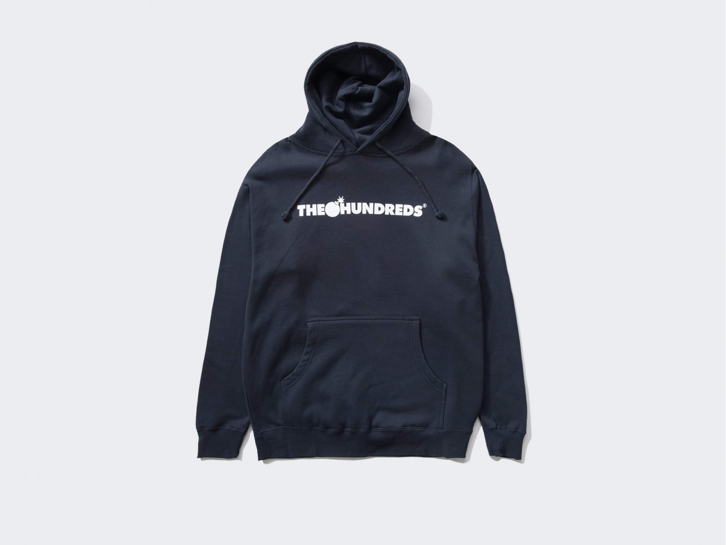 Толстовка The Hundreds Forever Bar Logo Pullover /navy