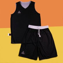 Двухсторонняя форма PEAK Basketball reversible, white/black