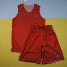 Двухсторонняя форма PEAK Basketball reversible, red, white