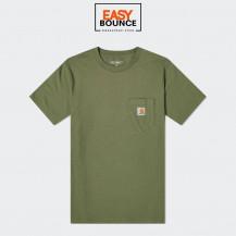 Футболка Carhartt WIP S/S Pocket T-Shirt / dollar green