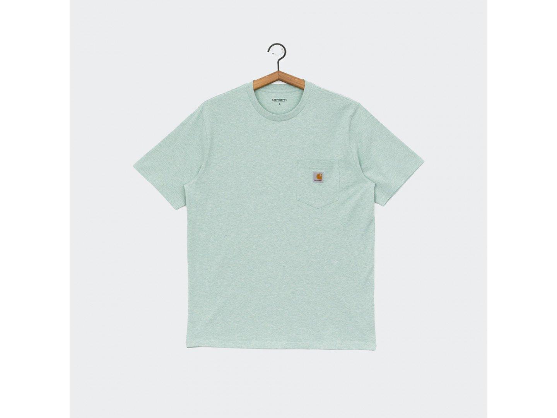 Футболка Carhartt WIP S/S Pocket T-Shirt ZOLA HEATHER