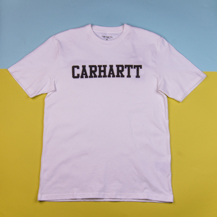 Футболка Carhartt WIP College Graphic Print / white, black