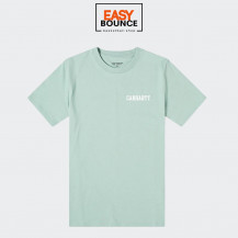 Футболка Carhartt WIP S/S College Script T-Shirt / zola, white