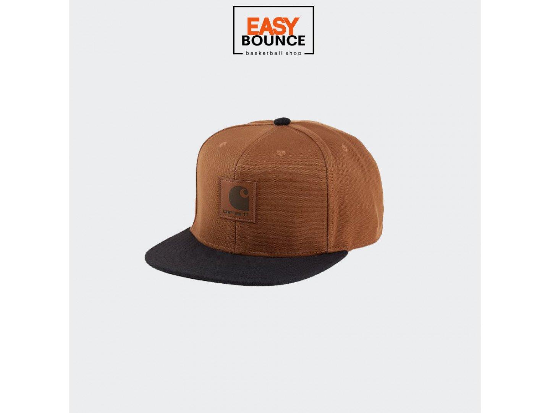 Кепка Carhartt WIP Logo Cap Bi-Colored / hamilton brown, black