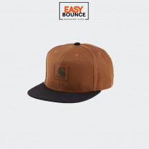 Кепка Carhartt WIP Logo Cap Bi-Colored / hamilton brown, black