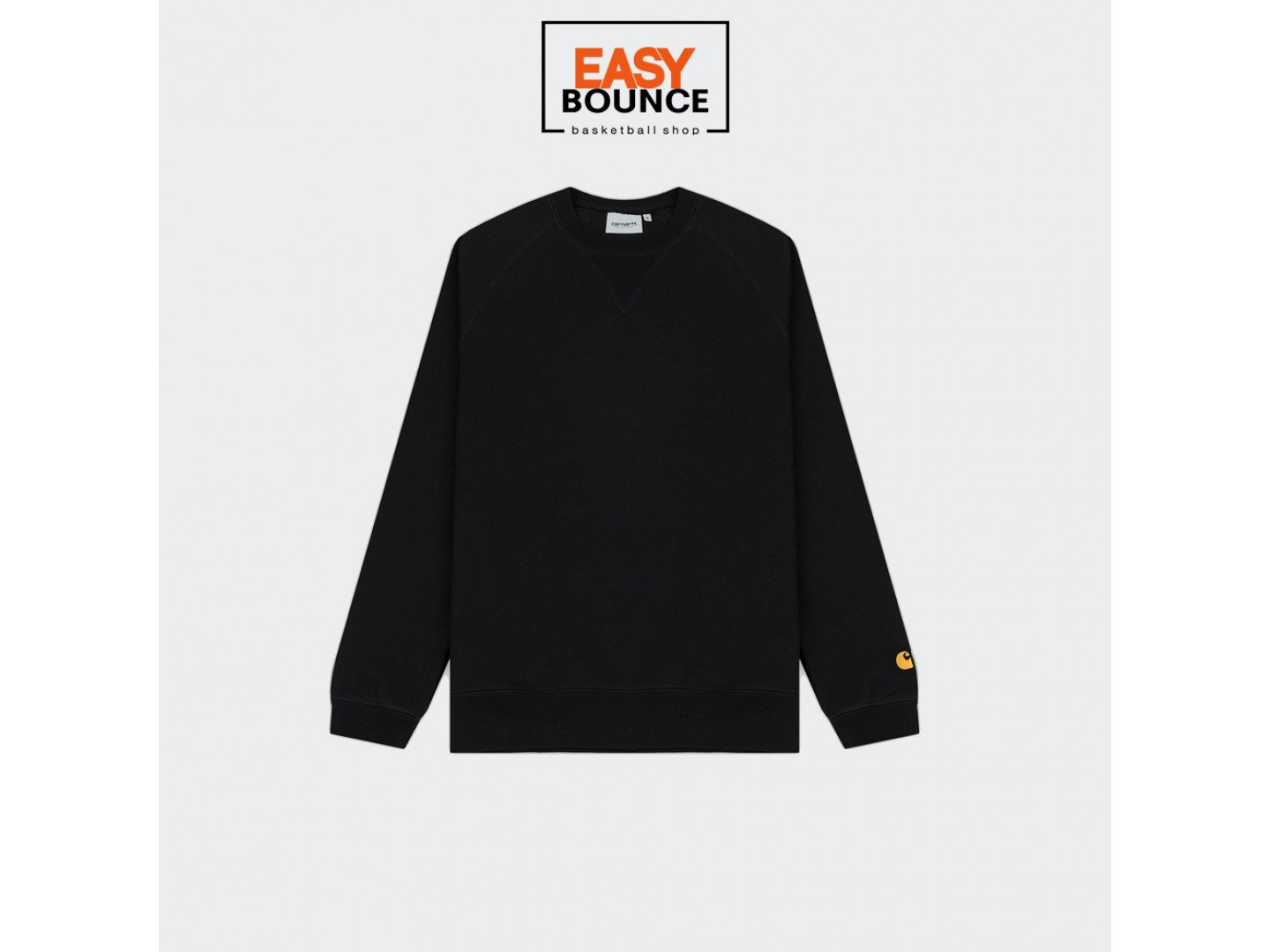 Свитшот Carhartt WIP Chase Sweatshirt 13 Oz / black, gold