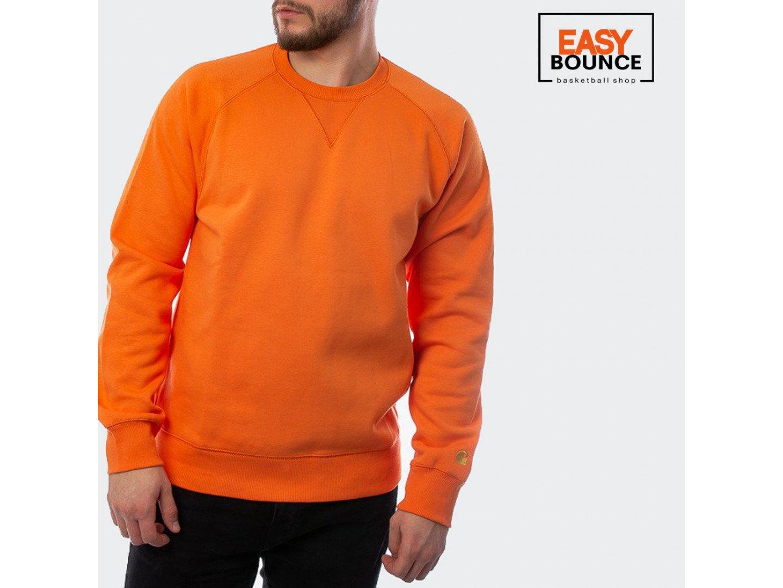 Свитшот Carhartt WIP Chase Sweatshirt 13 Oz / clockwork, gold