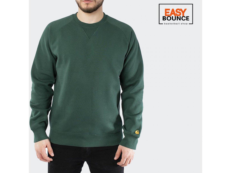 Свитшот Carhartt WIP Chase Sweatshirt 13 Oz / treehouse, gold