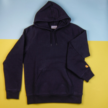 Худи Carhartt WIP Chase 13 Oz / dark navy, gold