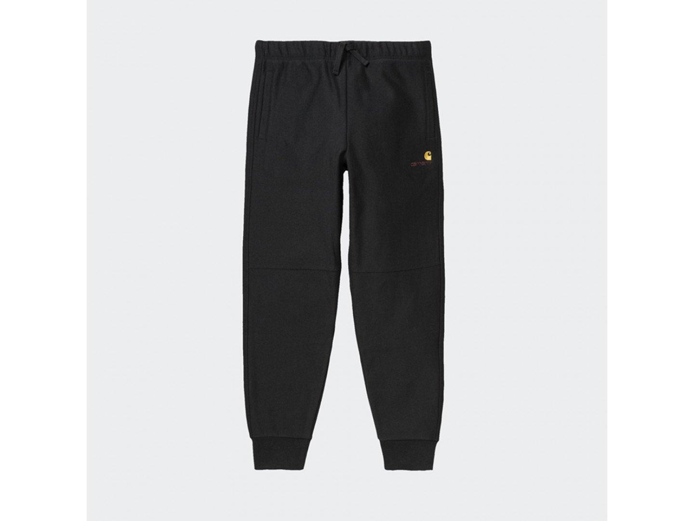 Штаны Carhartt WIP American Script Jogging Pant BLACK