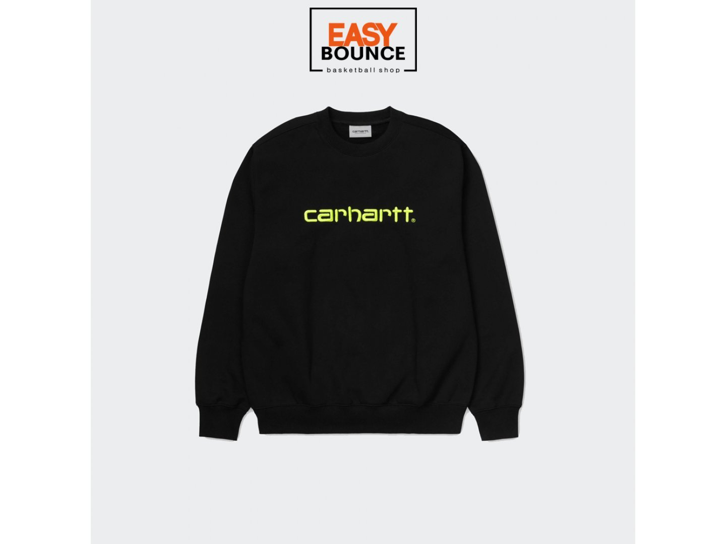 Свитшот Carhartt WIP Sweatshirt / black, lime