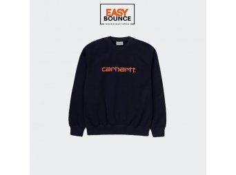 Свитшот Carhartt WIP Sweatshirt / dark navy, clockwork