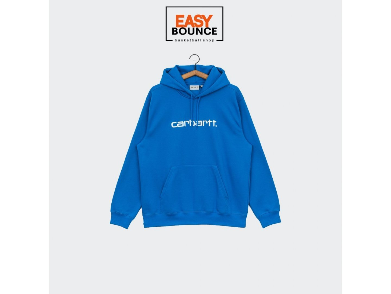 Худи Carhartt WIP Hooded Sweatshirt / azzuro, white