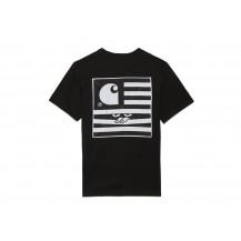 Футболка Carhartt WIP Incognito / black, white, black