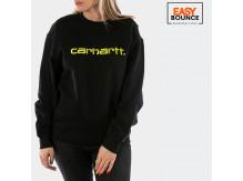 Свитшот Carhartt WIP W' Sweatshirt / black, lime