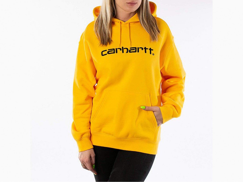 Толстовка Carhartt WIP W' Hooded Sweatshirt / sunflower, black