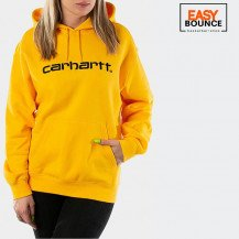 Толстовка Carhartt WIP W' Hooded Sweatshirt / sunflower, black
