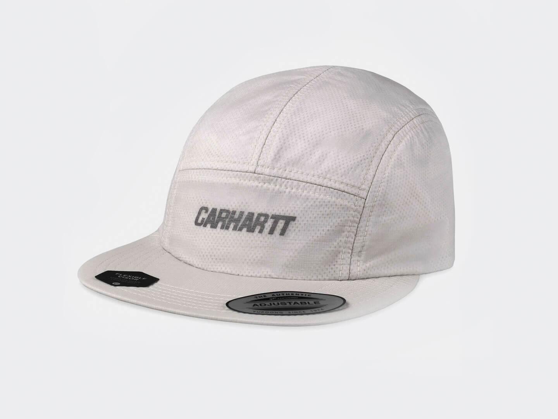 Кепка Carhartt WIP Turrell Cap / pebble, reflective grey