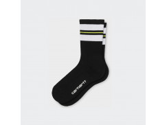 Носки Carhartt WIP Norwood Socks WHITE/BLACK /LIME