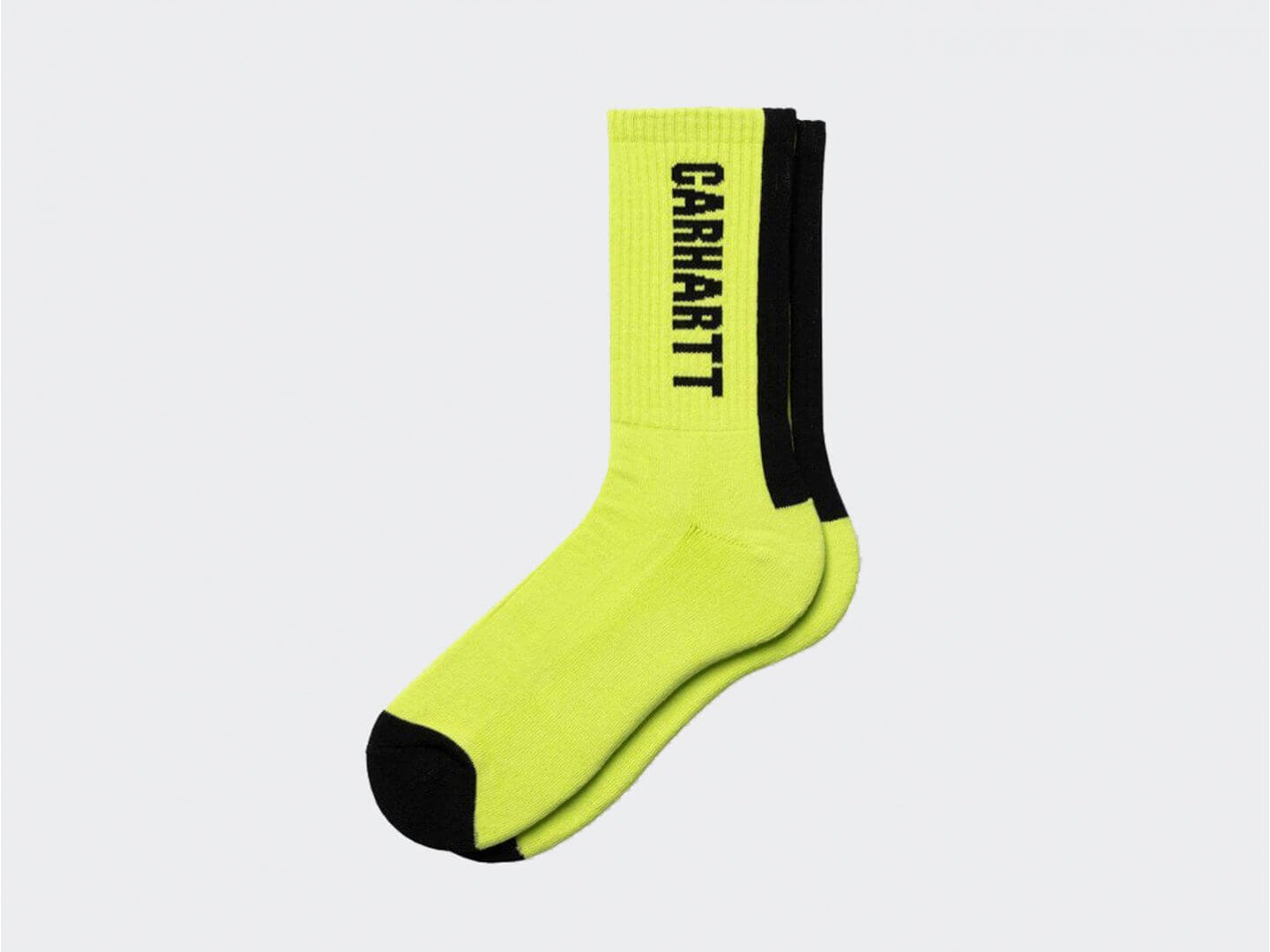Носки Carhartt WIP Turner Socks / lime, black
