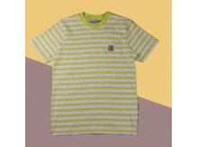Футболка Carhartt WIP S/S Scotty Pocket T-Shirt SCOTTY STRIPE, LIME / WHITE