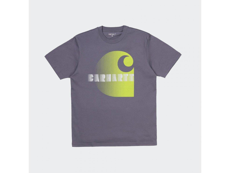 Футболка Carhartt WIP S/S Illusion T-Shirt DECENT PURPLE