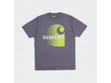 Футболка Carhartt WIP S/S Illusion T-Shirt DECENT PURPLE