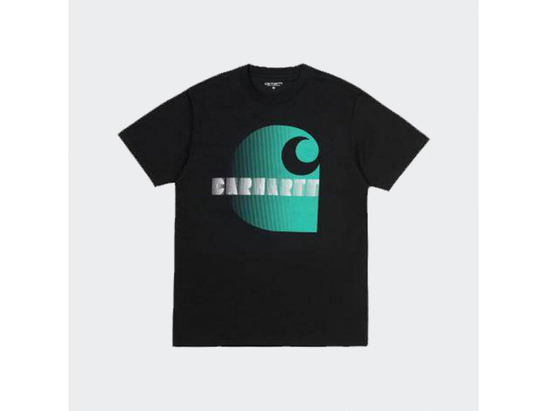 Футболка Carhartt WIP S/S Illusion T-Shirt BLACK