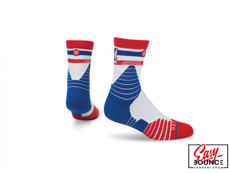 Мужские носки Stance  NBA Oncourt Qtr Thin Stripe