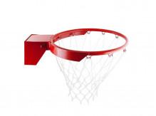 Кольцо баскетбольное амортизационное № 7, с сеткой, d=450мм
