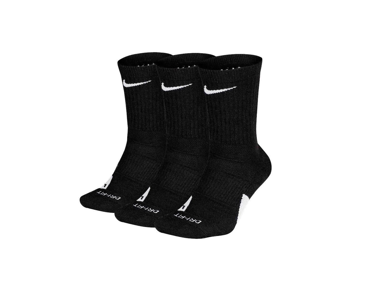 Носки Nike Elite Crew 3PR / black
