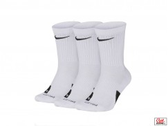 Носки Nike Elite Crew 3PR, White/Black