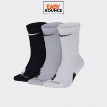 Носки Nike Elite Crew 3PR / black, white, grey