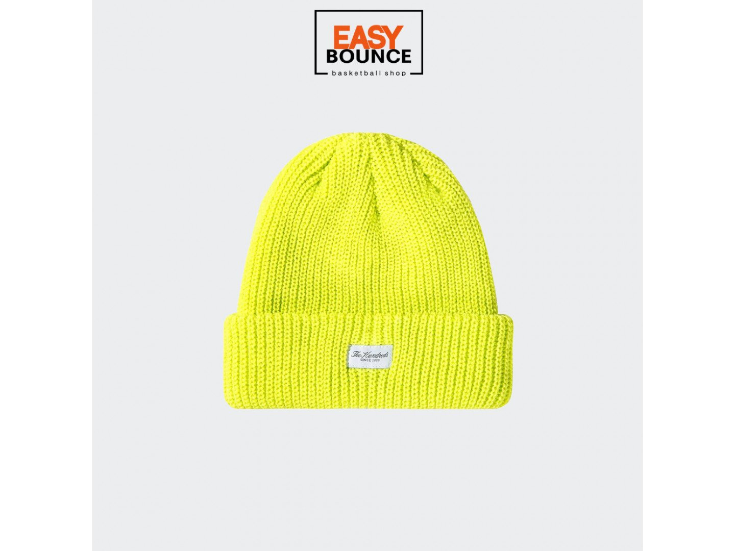Шапка The Hundreds Crisp Beanie SP20 / highlighter yellow
