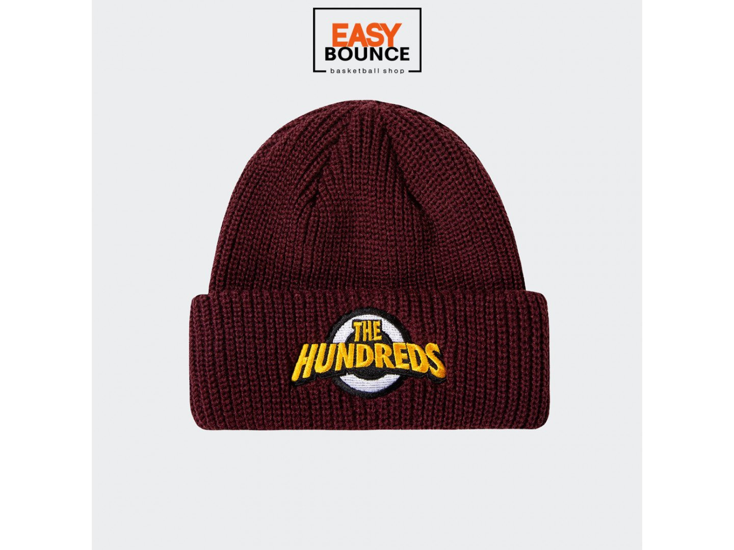 Шапка The Hundreds Stem Beanie / burgundy