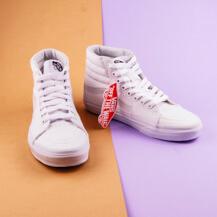 Женские кеды Vans SK8-HI, True White