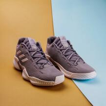 Мужские кроссовки Adidas Pro Bounce 2018 low / grey