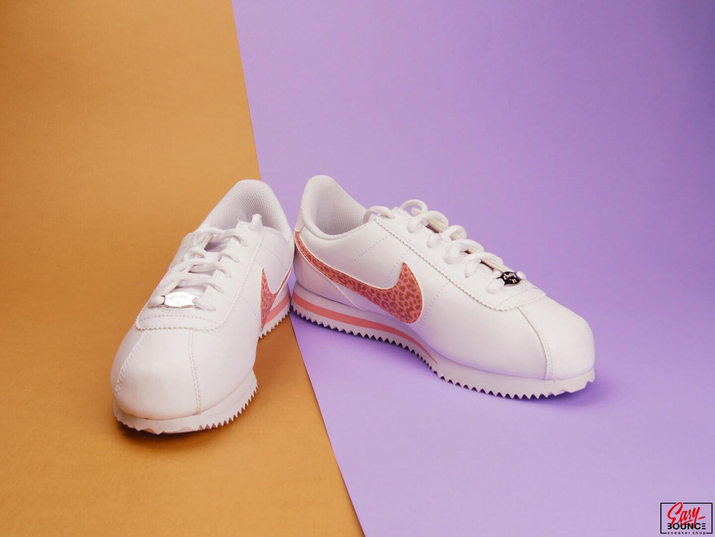 a4feaad20ed Детские кроссовки Nike Cortez Basic SL (GS) / white, pink