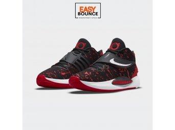 Кроссовки Nike KD 14 / black, university red, white