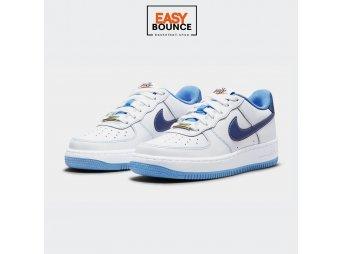 Кроссовки Nike Air Force 1 S50 / white, university blue