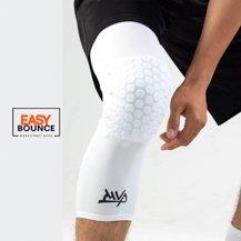 Защита на колено Protective Knee Band Long Comb / white