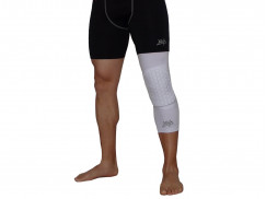 Защита на колено Protective Knee Band Long Comb / white