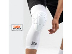 Защита на колено Protective Knee Band Long Star / white