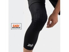 Защита на колено Protective Knee Band Long Stripes / Black