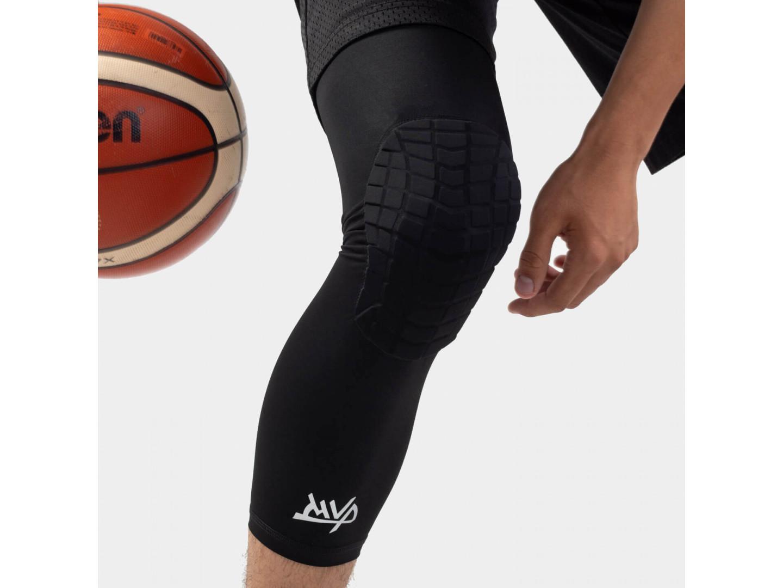 Защита на колено Protective Knee Band Long Stripes / Black