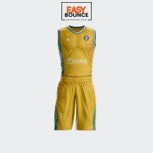 "Форма Peak ПБК ""Астана"" Лига ВТБ сезон 2020-2021 (домашняя)  / yellow"
