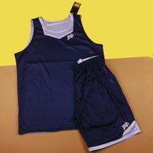 Двухсторонняя баскетбольная форма MVP  / blue
